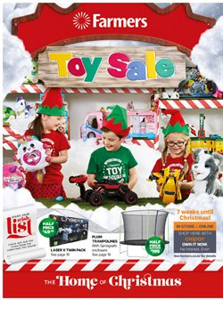 Kids, toys & babies offers in the Farmers catalogue in Christchurch