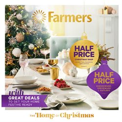 Homeware & Furniture offers in the Farmers catalogue in Paraparaumu