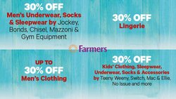Clothes, Shoes & Accessories offers in the Farmers catalogue ( 5 days left)