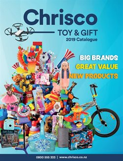 Department Stores offers in the Chrisco Hampers catalogue in Auckland