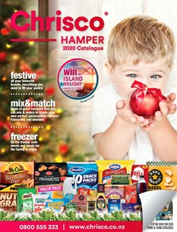 Department Stores offers in the Chrisco Hampers catalogue ( 21 days left )
