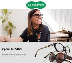 Specsavers offers in the Specsavers catalogue ( 2 days left)