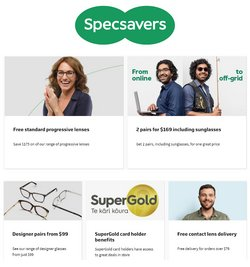Specsavers offers in the Specsavers catalogue ( Expires today)