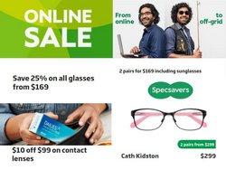 Specsavers offers in the Specsavers catalogue ( 21 days left)