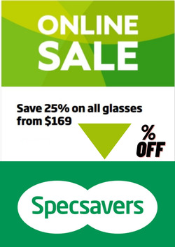 Specsavers coupon ( 9 days left )