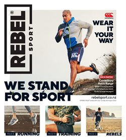 Rebel Sport catalogue in Auckland ( Expires tomorrow )