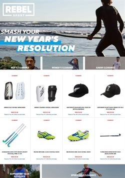Sport offers in the Rebel Sport catalogue in New Plymouth ( 9 days left )