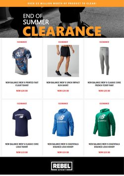 Sport offers in the Rebel Sport catalogue in Auckland ( 3 days ago )