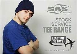 Offers from SAS Sport in the Auckland special