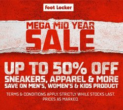 Clothes, Shoes & Accessories offers in the Foot Locker catalogue ( Expires tomorrow)
