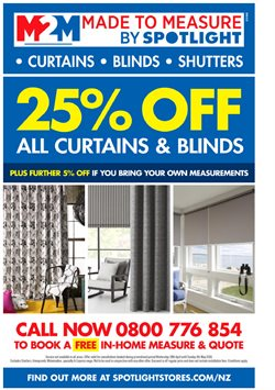 Offers from Spotlight in the Hastings special