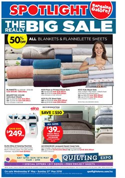 Offers from Spotlight in the Putaruru special