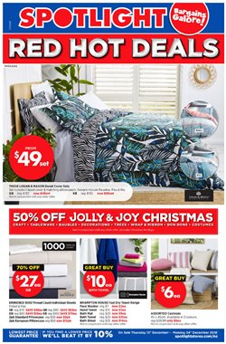 Homeware & Furniture offers in the Spotlight catalogue in Inglewood