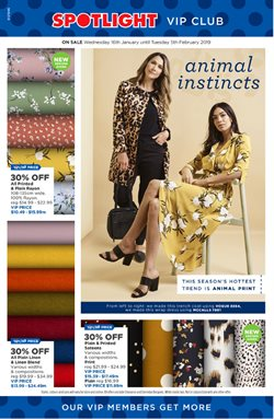 Homeware & Furniture offers in the Spotlight catalogue in Auckland