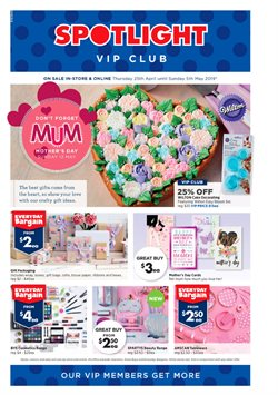 Offers from Spotlight in the Auckland special