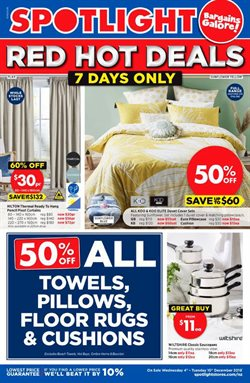 Homeware & Furniture offers in the Spotlight catalogue in Napier