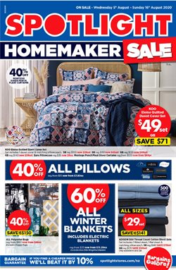Homeware & Furniture offers in the Spotlight catalogue in Wellington ( 6 days left )