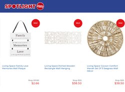 Spotlight catalogue ( 6 days left )