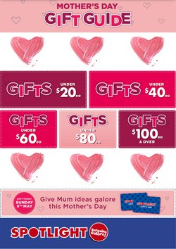 Mother's Day offers in the Spotlight catalogue ( Expires tomorrow)