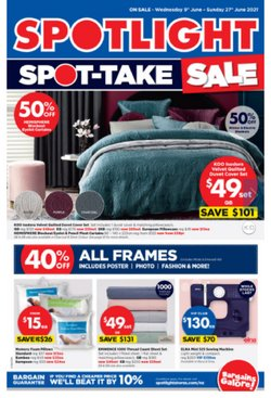 Spotlight catalogue ( 11 days left)