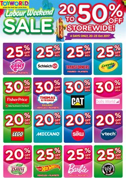 Kids, toys & babies offers in the Toyworld catalogue in Katikati