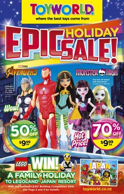 Offers from Toyworld in the Auckland special