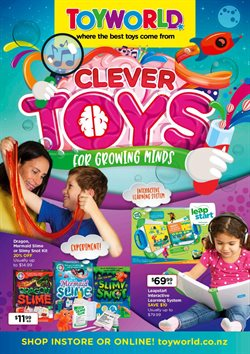 Kids, toys & babies offers in the Toyworld catalogue in Christchurch