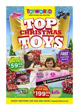 Babies, Kids & Toys offers in the Toyworld catalogue in Auckland