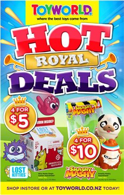 Babies, Kids & Toys offers in the Toyworld catalogue in Hamilton ( 7 days left )