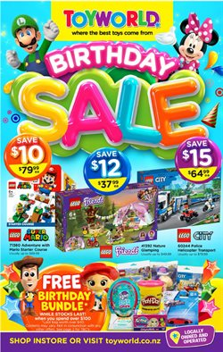 Babies, Kids & Toys offers in the Toyworld catalogue in Tauranga ( 2 days ago )