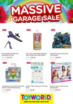 Babies, Kids & Toys offers in the Toyworld catalogue ( 2 days left )