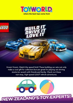 Toyworld offers in the Toyworld catalogue ( Expires tomorrow)