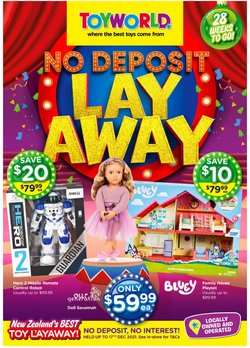 Toyworld offers in the Toyworld catalogue ( 18 days left)