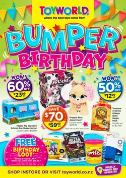 Babies, Kids & Toys offers in the Toyworld catalogue ( 5 days left)