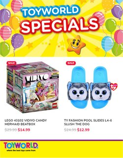 Toyworld offers in the Toyworld catalogue ( Expired)