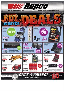 Cars, motorcycles & spares offers in the Repco catalogue in Carterton