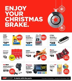 Offers from Repco in the Richmond special