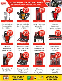 Cars, Motorcycles & Spares offers in the Repco catalogue in Auckland