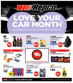 Cars, Motorcycles & Spares offers in the Repco catalogue in Hamilton