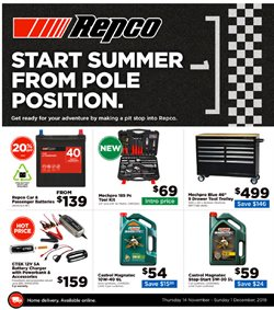 Offers from Repco in the Tauranga special