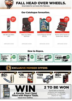 Cars, Motorcycles & Spares offers in the Repco catalogue in Palmerston North ( 2 days left )