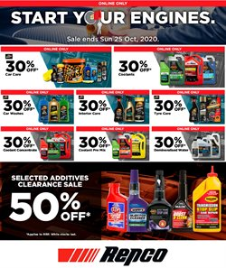 season offers in the Repco catalogue ( Expires tomorrow)
