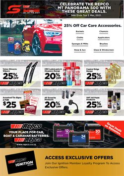 Repco catalogue ( Published today )
