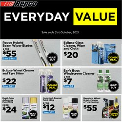 Cars, Motorcycles & Spares offers in the Repco catalogue ( 9 days left)