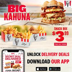 Restaurants offers in the KFC catalogue in Tauranga ( 3 days ago )