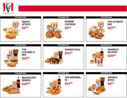 KFC catalogue ( 2 days left )