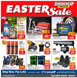 Cars, motorcycles & spares offers in the SuperCheap Auto catalogue in Rolleston