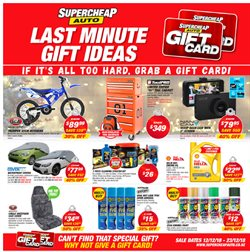 Cars, motorcycles & spares offers in the SuperCheap Auto catalogue in Lincoln