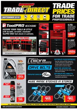 Cars, Motorcycles & Spares offers in the SuperCheap Auto catalogue in Hamilton