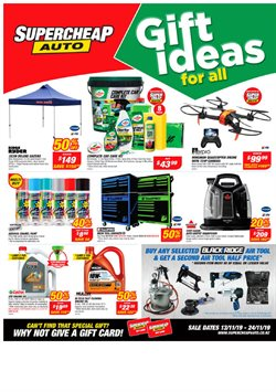 Offers from SuperCheap Auto in the Wellington special
